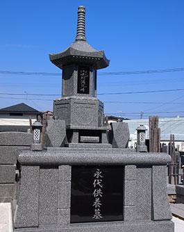 永代供養墓全景