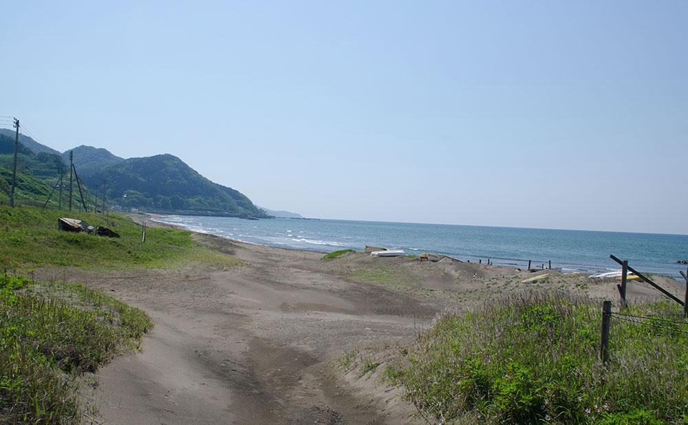 居多が浜(親鸞聖人上陸地)